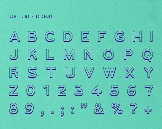 Ugo font free