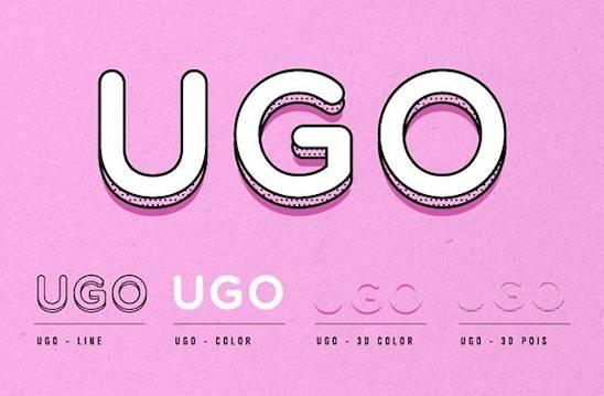 Ugo font free download