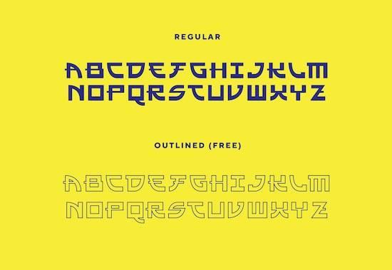 Okami font