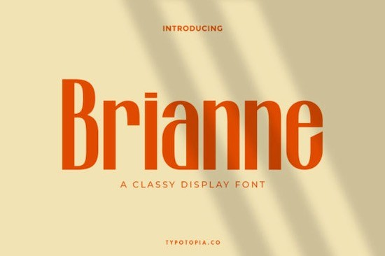 Brianne font