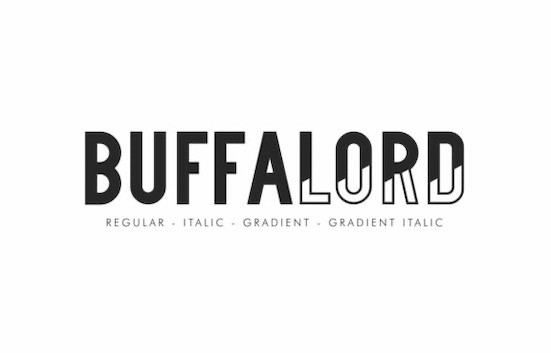 Buffalord Font Family free download
