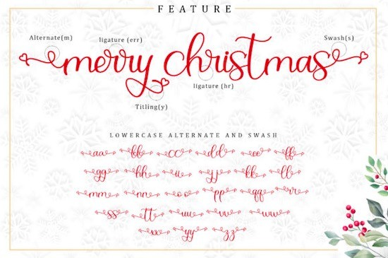 Christmas Bell font download