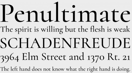 Cormorant font family free