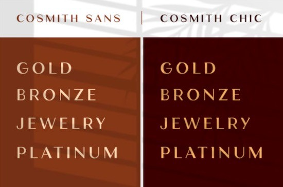 Cosmith font free download