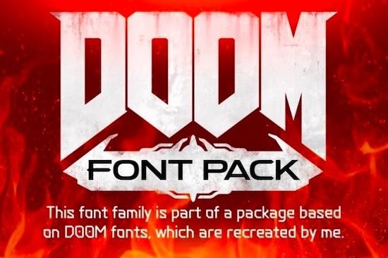 DOOM Eternal Font free