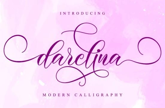 Darelina Font free download
