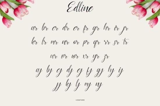 Edline font download