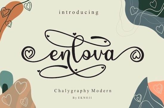 Enlova font free download