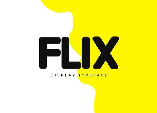 FLIX font