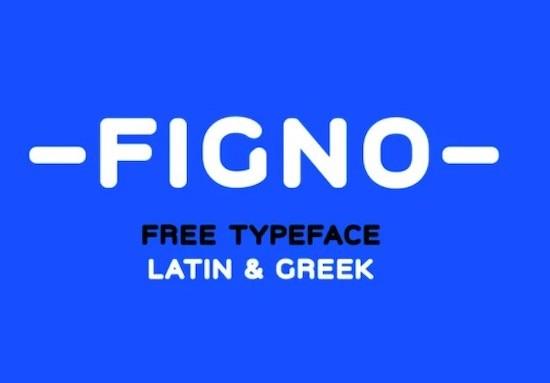 Figno font free