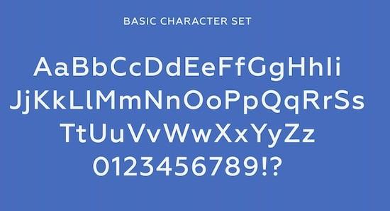 Geometria font download