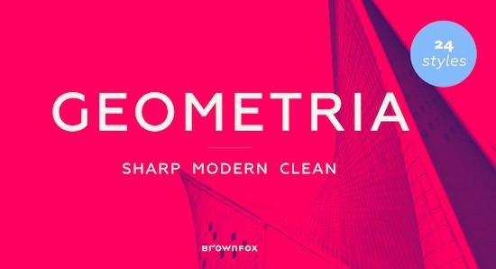 Geometria font free download