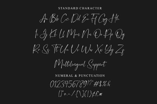Glittery font free download