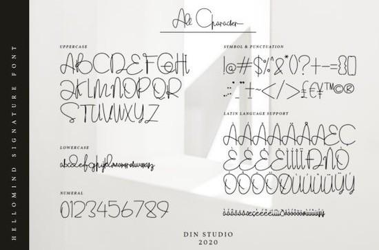 Hellomind font download