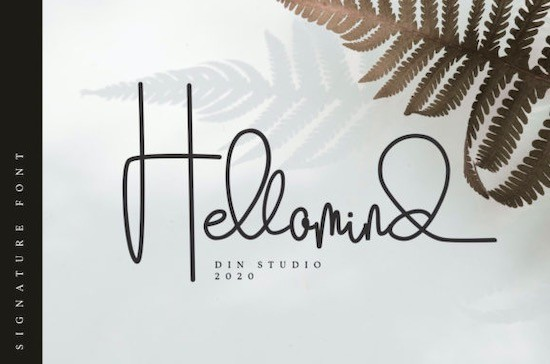 Hellomind font features