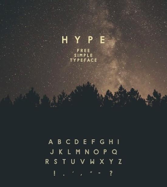 Hype Font free
