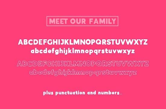 Indigo Sans font Duo free download