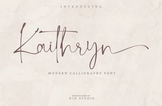 Kaithryn font free download
