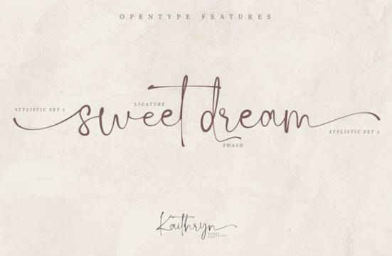 Kaithryn font download