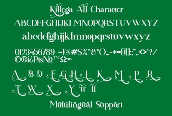 Killega font free download