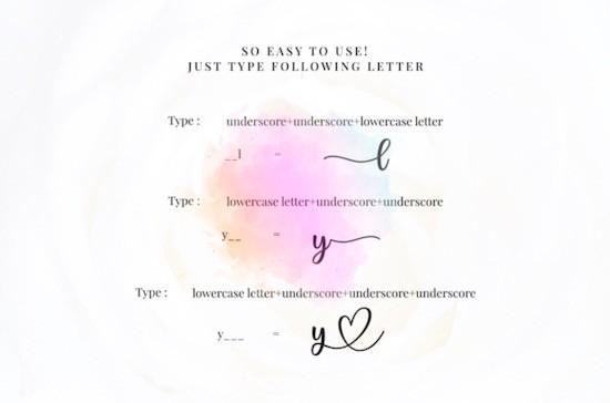 Lovely Melody font free