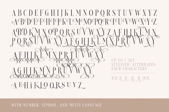 Loverica font free download