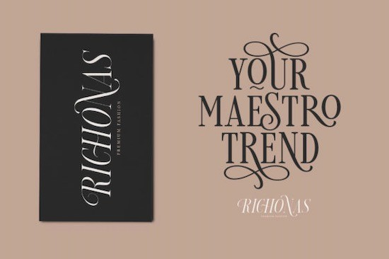 Loverica font free