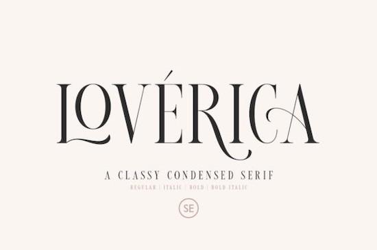 Loverica font