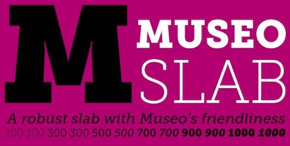Museo font free