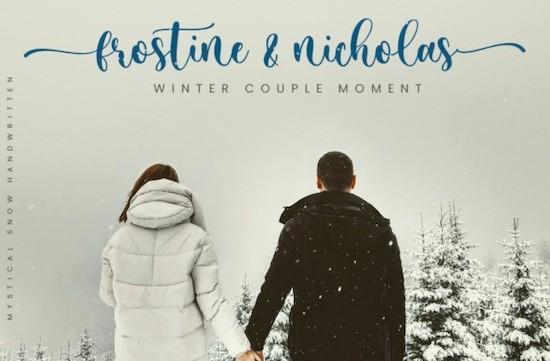 Mystical Snow Font free download