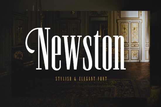 Newston Serif Font