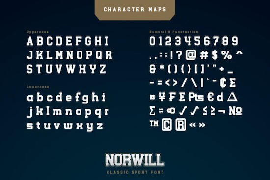 Norwill Font download