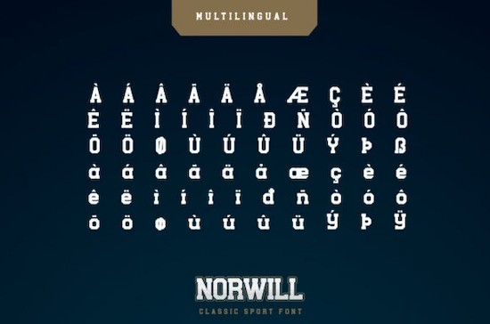 Norwill Font free download