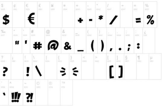 Obelix font free