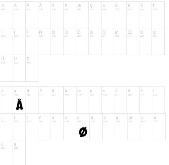 Obelix font