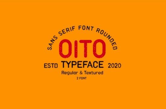 Oito font family
