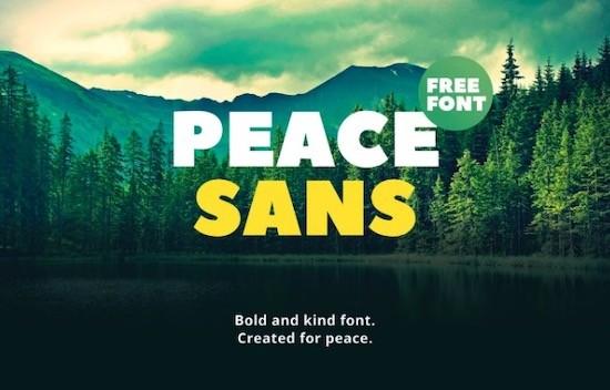 Peace font download