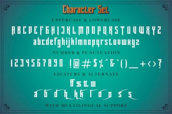 Rademos font free download