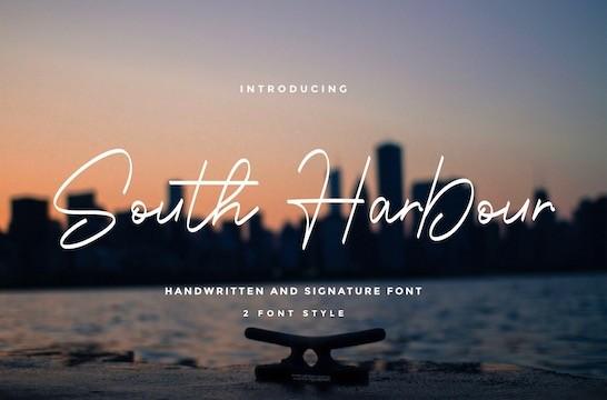 South Harbour Font