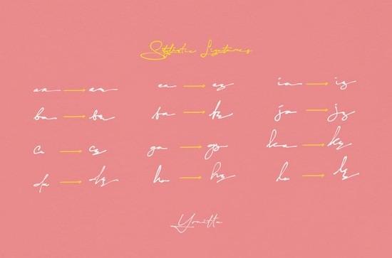 Yonitta font download