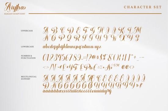 Aithya font download