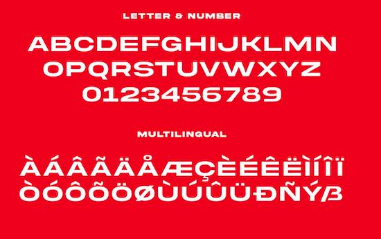 Akira Expanded font free