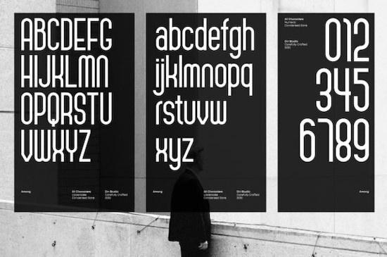 Among font download