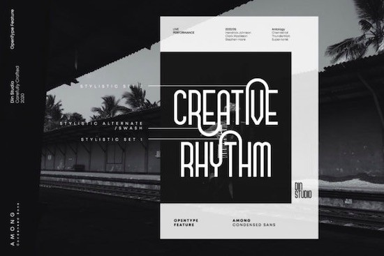 Among font free download