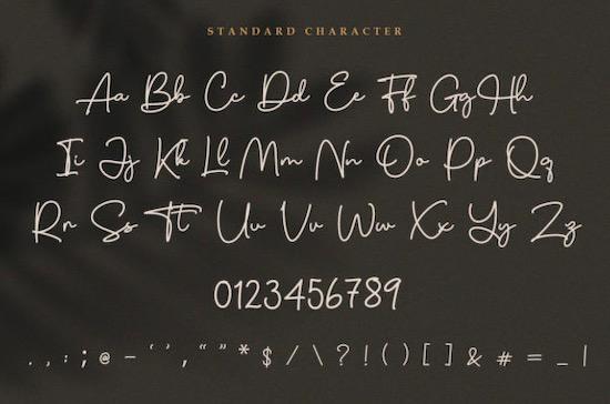 Charles Sebastian font free download