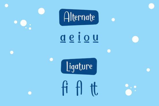 Cuttie font free