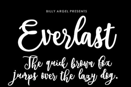 Everlast Font download