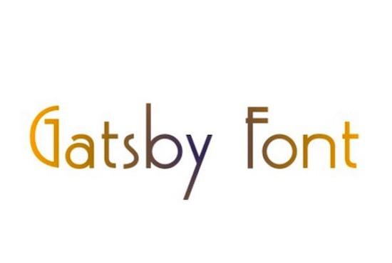 Gatsby Font dowlnoad
