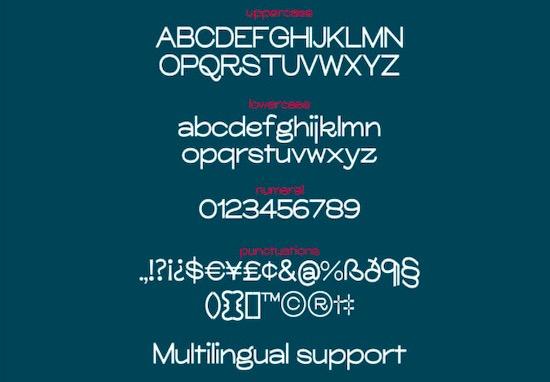 Glora Sans Font Family download