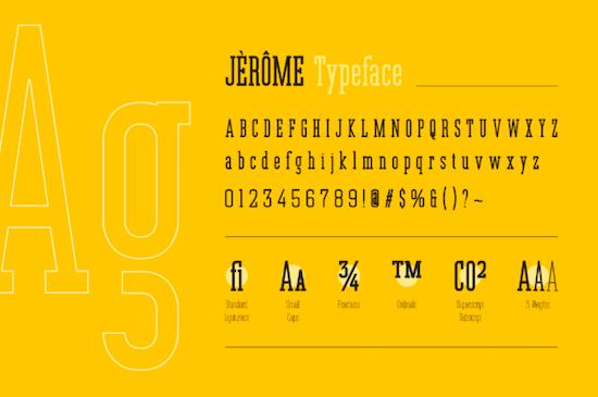 Jerome font download